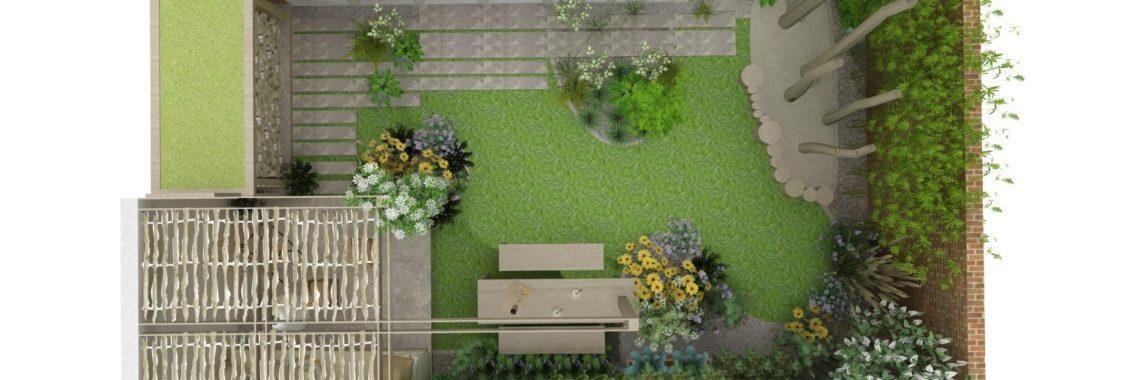 tuinontwerp natuurlijke achtertuin Amersfoort