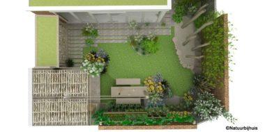 kindvriendelijke voor- en achtertuin tuinontwerp natuurlijk