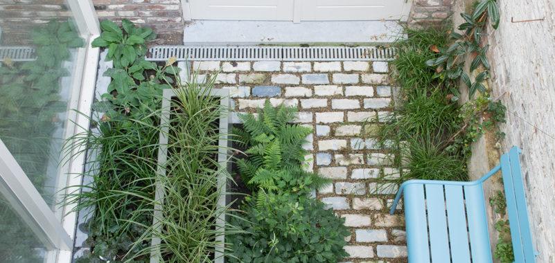 natuur bij huis voorbeeld tuinontwerp patio natuurbijhuis (foto ©Maayke de Ridder)