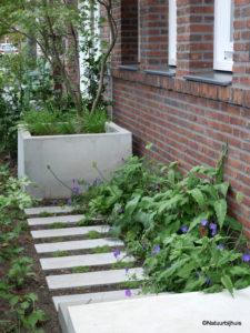 voorbeeld tuinontwerp hufterproof voortuin