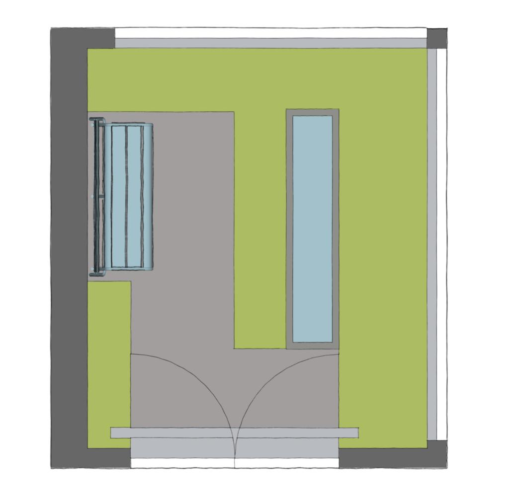 ontwerp kleine patio