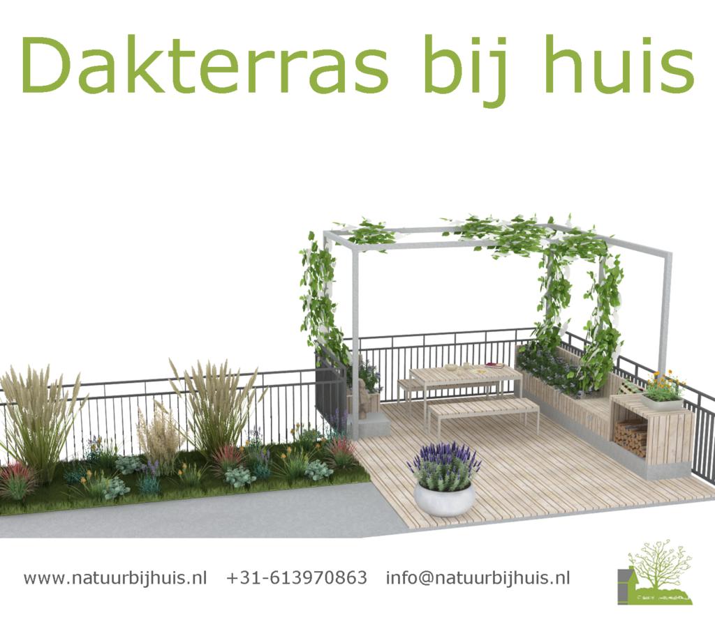 dakterras inrichting voorbeeld tuinontwerp