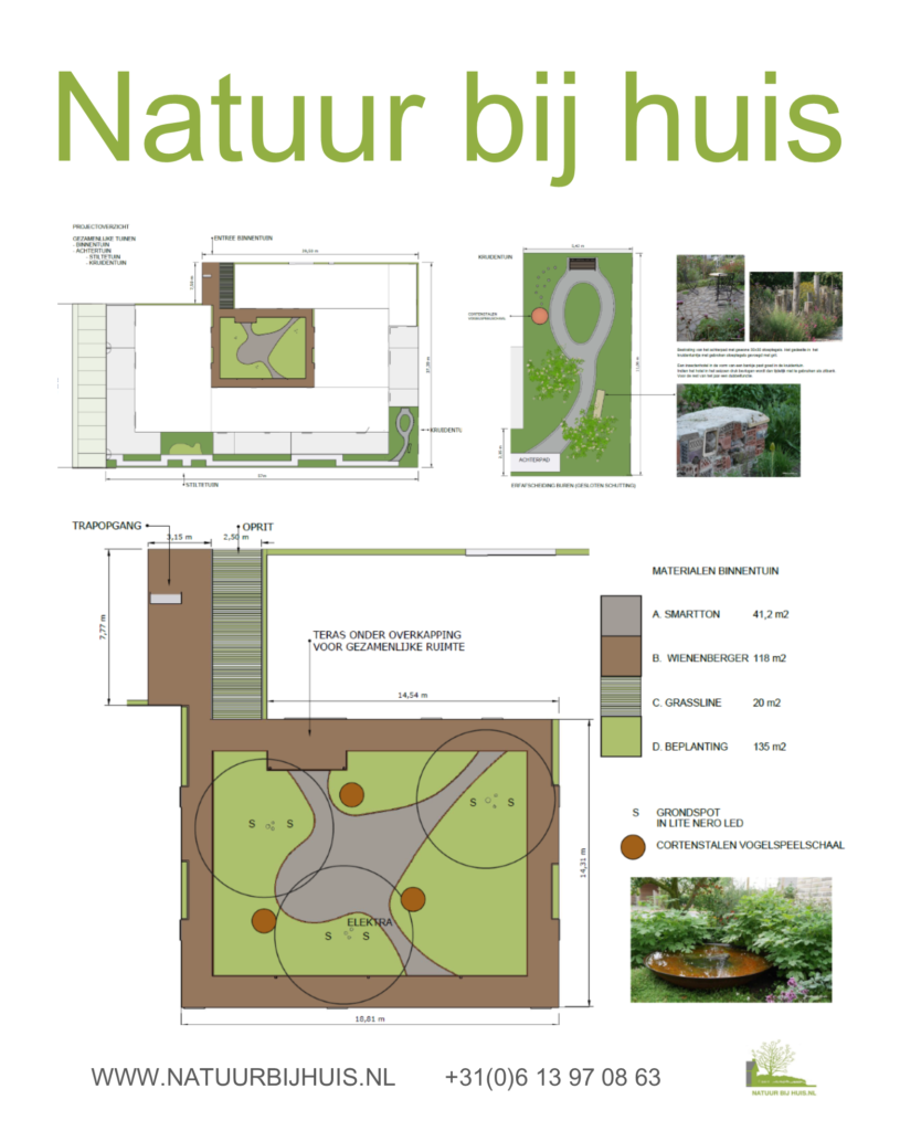tuinontwerp binnentuin CPO gezamenlijke tuin