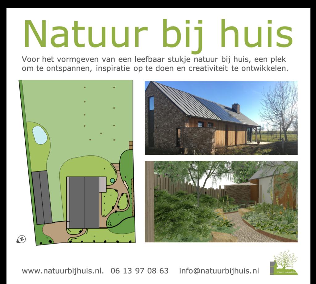 tuinontwerp natuur tuin zuid Limburg