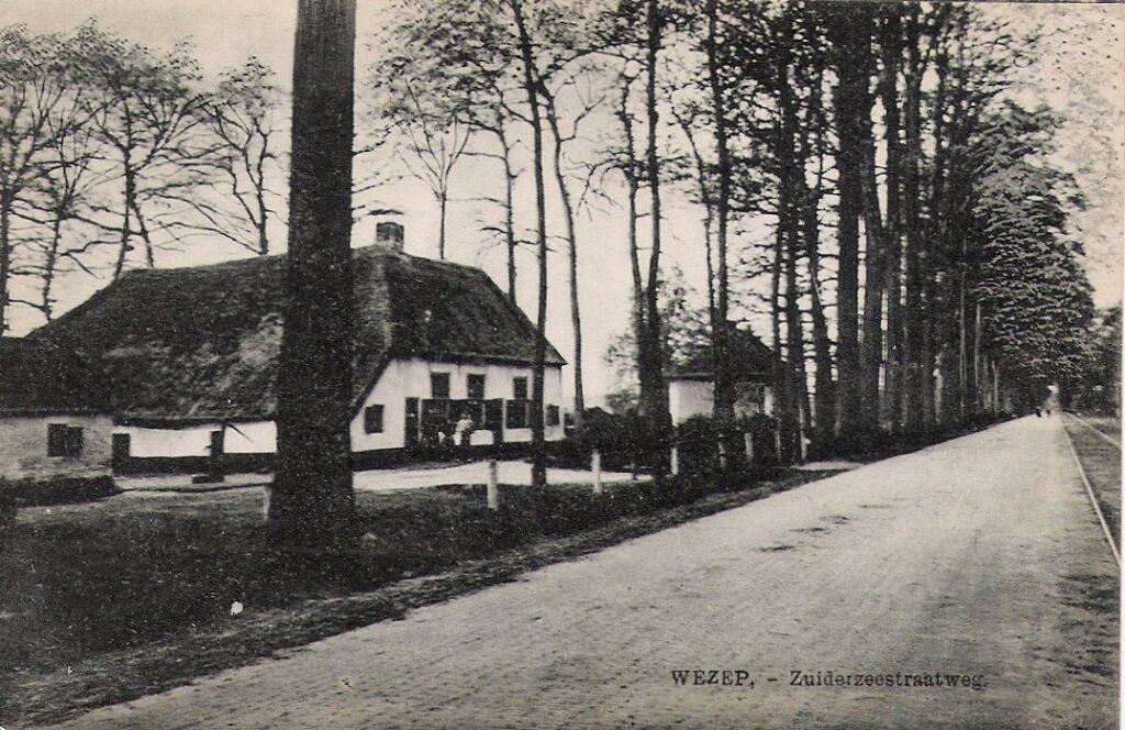 oude foto boerderij Landgoed IJsselvliedt Wezep